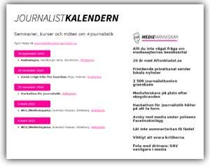 journalistkalendern